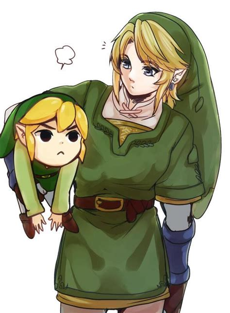 Link Me And My Brother Legend Of Zelda Pinterest