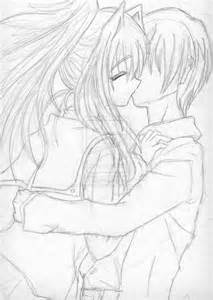 Anime Love Drawings