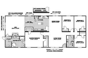 manufactured home floor plan 2008 clayton riverland