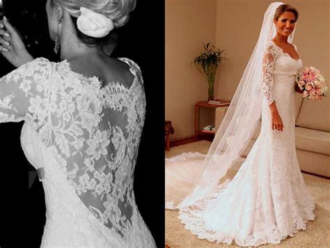 Wedding Dresses For Women : Plus Size Vintage Wedding Dresses With Sleeves Naf Dresses