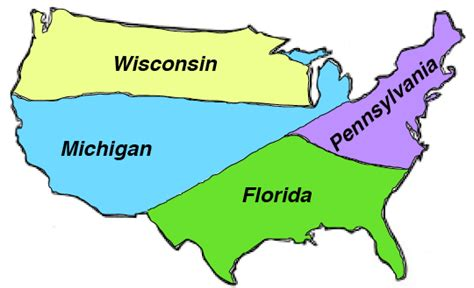 Just Four States Predicted in 2019 to Determine Outcome of ...