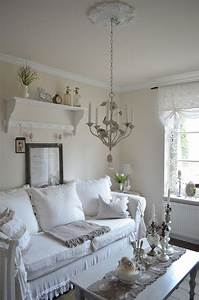 Shabby Chic Mode : cool shabby chic style living room design ~ Markanthonyermac.com Haus und Dekorationen