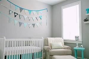 deco chambre garcon gris bleu visuel 4 With chambre bebe garcon bleu gris