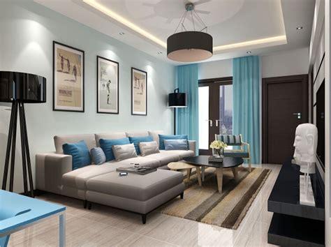 Art Minimalist Style Living Room Decoration