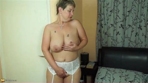 White Stockings And Garter Belt On Hot Mature Alpha Porno