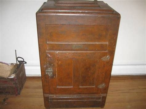 Antique Ice Box For Sale   WoodWorking Projects & Plans
