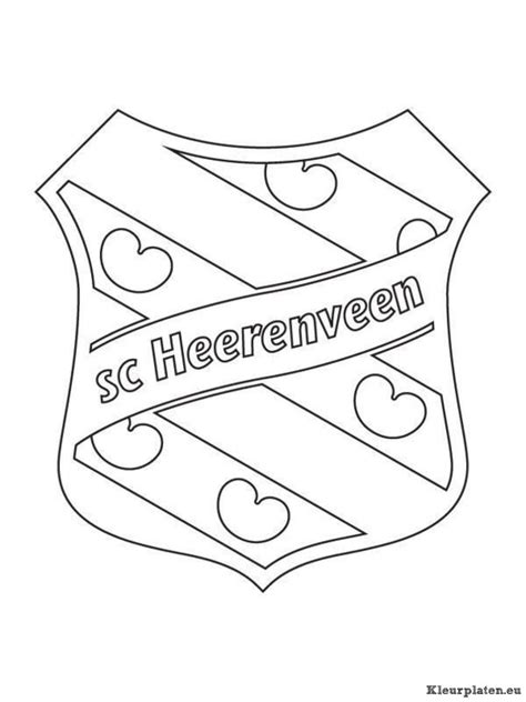 Kleurplaat Logo by Voetbalclub Nederland Logo Kleurplaten Kleurplaten Eu