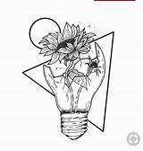 Space Coloring Drawing Drawings Pages Outer Sunflower Aesthetic Flower Easy Flowers Rose Sketch Draw Inside Broken Pencil Tattoo Bad Lightbulb sketch template