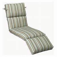 outdoor chaise lounge cushions Home Decorators Collection Sunbrella Cilantro Stripe ...