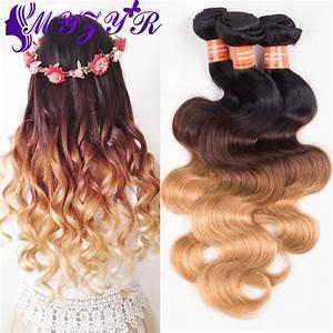 Ombre 3 Tone Brazilian Hair Body Wave Ombre Brazilian Hair ...