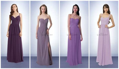 wisteria colored dresses purple bridesmaid dresses