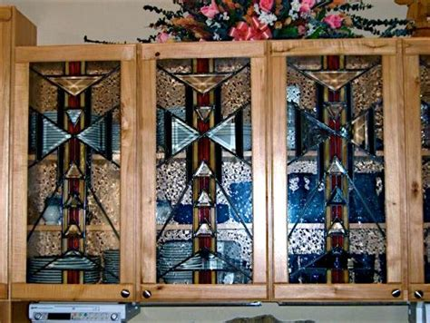 stained glass for kitchen cabinets 169 best images about glass cabinet doors on 8220