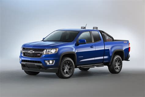 Chevy Presents 2016 Colorado Special Models   Carscoops