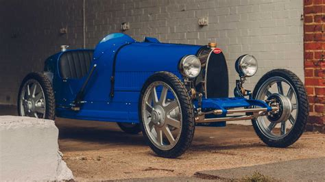 Priced at about $35,000, it's powered by an electric drivetrain. Bugatti Baby II Gets Bigger, More Powerful For Production Run