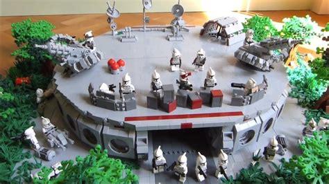 lego star wars  clone wars deutsch clone base  endor
