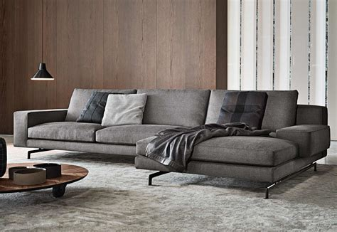 interior design kitchen room sherman corner sofa by minotti stylepark