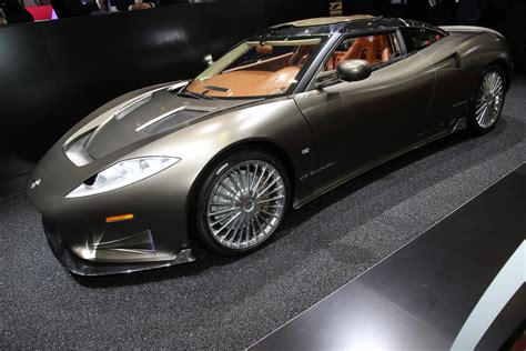 Spyker : Spyker C8 Preliator Gets A New Spyder Version For Geneva
