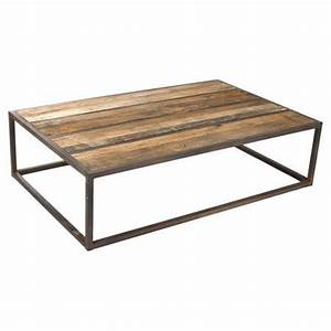 Coffee tables ideas metal frame coffee table with wood for Wood coffee table with metal frame