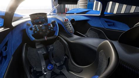 The bugatti bolide is the most extreme, uncompromising, fastest and lightest vehicle concept in the company's recent history. The Bugatti Bolide Concept Is an Ultralight Track Car With an 1,825-HP, 8.0-Liter W16 Engine