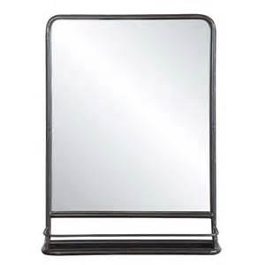 metal mirror w shelf tall da4675