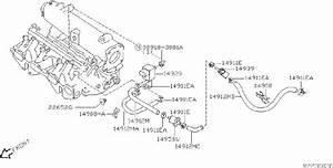 Nissan Sentra Vapor Canister  Engine  Rear  Cal