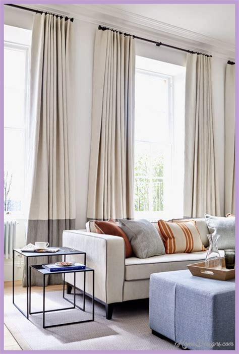 17 Best Ideas For Modern Living Room Curtains