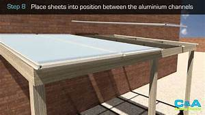 How To Install Polycarbonate Roofing Sheets YouTube