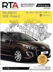 Manual De Taller Y Mecanica Peugeot 308 Fase 2 1 6 Hdi 112