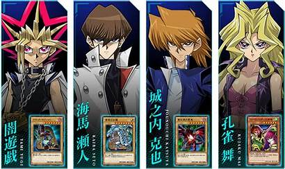 Duel Yugioh Links Yu Gi Oh Characters