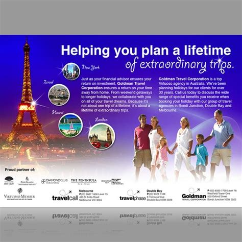 Travel Agency Newspaper Advertisement Other Business Or