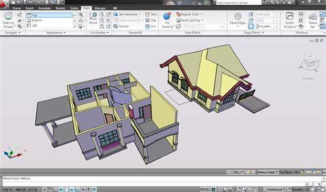 tutorial cepat modelling  rumah  lantai  autocad
