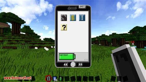 minecraft phone mod eyemod mod 1 11 2 1 10 2 real iphone ipod