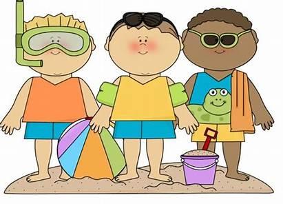 Summer Clipart Clip Clothes Cliparts Seasonal Preschool
