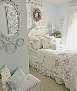 33 sweet shabby chic bedroom decor ideas digsdigs With shabby chic bedroom decorating ideas