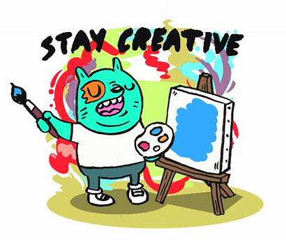 Giphy Creative Cartoon Gifs Fun Painting