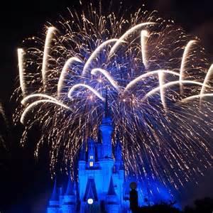 Disney Cinderella Castle Fireworks