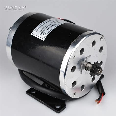 unitemotor my1020 24vdc 500w high speed dc brushed motor electric scooter motor mid wheel motors