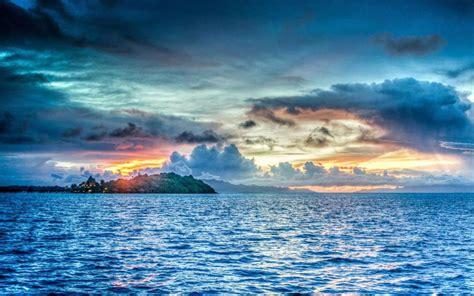 遇见优美的蓝色大海,高清图片,电脑桌面-壁纸族