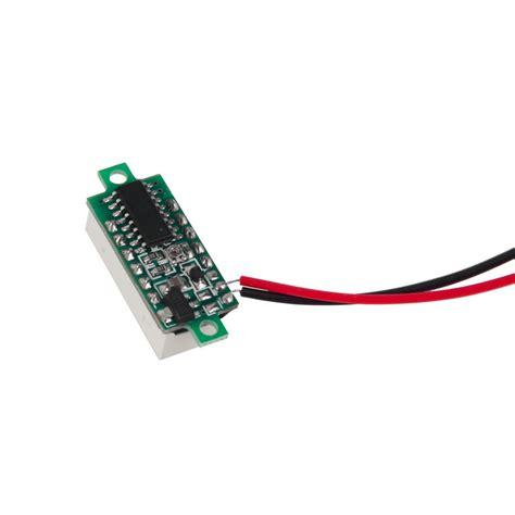0 36 inch led dc4 7 30v blue voltage meter display