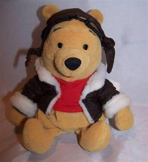 Winnie the Pooh Pilot Pooh Stuffed Plush, Disney