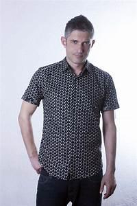 Chemise Noir Et Blanc : chemise noir et blanc manche courte mailles ba sap ~ Nature-et-papiers.com Idées de Décoration