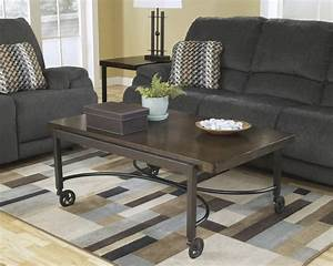 rustic coffee table with wheels decofurnish With rustic coffee table with casters