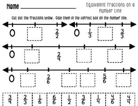 431 Best Images About Math Portfoliofractions & Probability On Pinterest  Fractions Worksheets