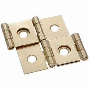 Stanley-National Hardware 3/4 in Double Acting Hinge