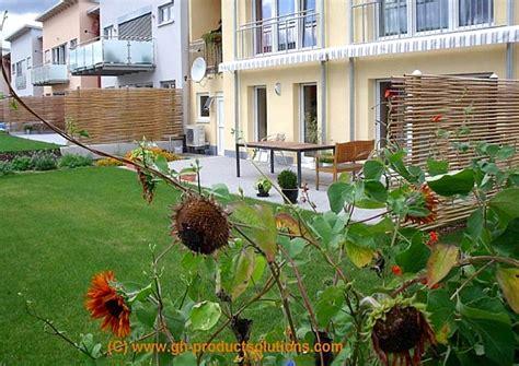 Sichtschutz Fuer Die Terrasse Aus Bambus Oder Aus Kunststoff by Bambus Sichtschutz Eleganter Bambuszaun Gh Product