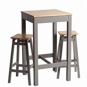Table Haute Et Tabouret : 10 tables hautes et tabourets de bar prix doux joli place ~ Teatrodelosmanantiales.com Idées de Décoration