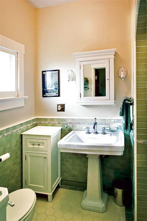 Pasadena Bathroom Fixtures by Craftsman Makeover For A California Bungalow House