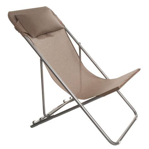 chaise longue castorama transatube lafuma