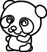 Panda Coloring Pages Printable Baby Colorings Inspirational Bab sketch template