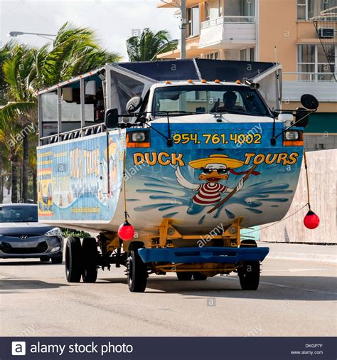 Duck Boat Tours Usa by Duck Tours Hibious Tour Vehicle Boat On A1a Along Fort